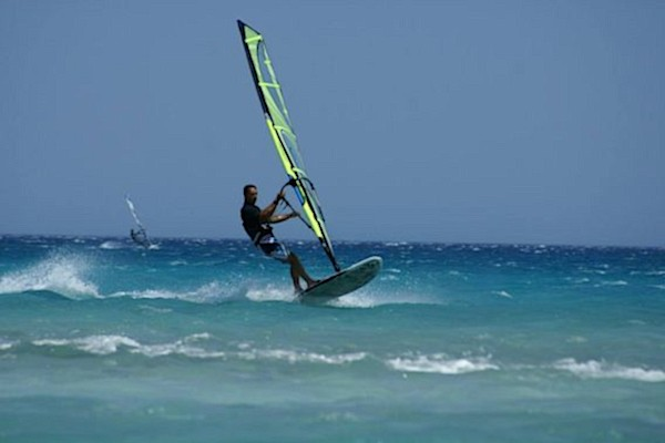 windsurfing sailing beach Pisa Tuscany